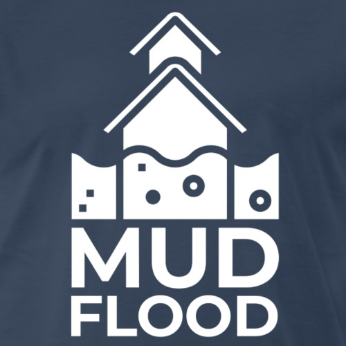 Mud Flood Evidence Worldwide - Men's Premium T-Shirt