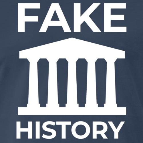 Fake History: Colonial Style Buildings Worldwide - Men's Premium T-Shirt