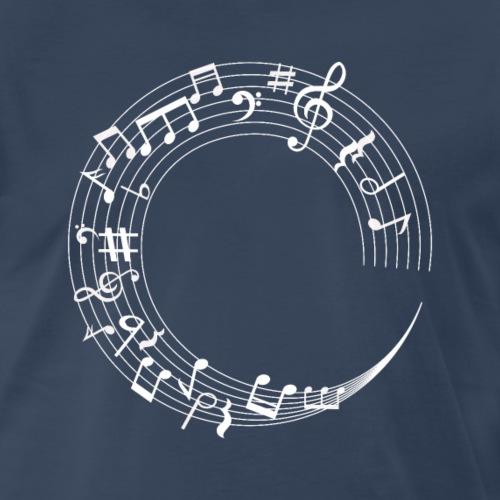 Circle of Music - Men's Premium T-Shirt