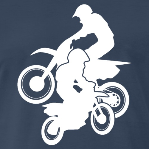 Motocross Dirt Bikes Off-road Motorcycle Racing - Men's Premium T-Shirt