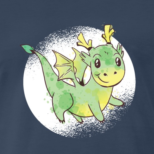 Dragon cute - Men's Premium T-Shirt