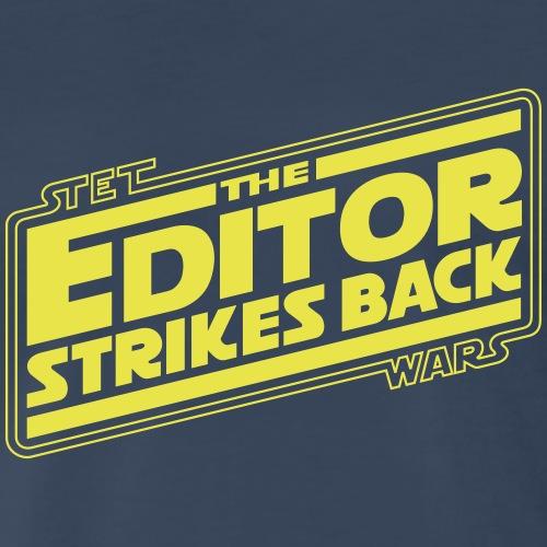 The Editor Strikes Back - Men's Premium T-Shirt