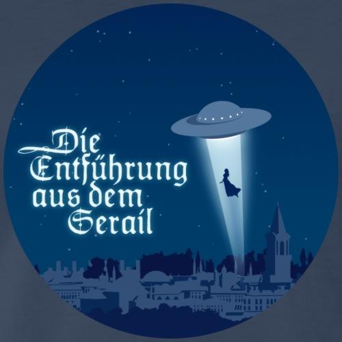 Die Entführung aus dem Serail: UFO (circle) - Men's Premium T-Shirt
