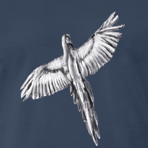 Flying parrot - Men's Premium T-Shirt