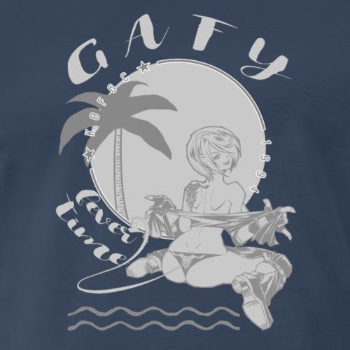 grey anheru - Men's Premium T-Shirt