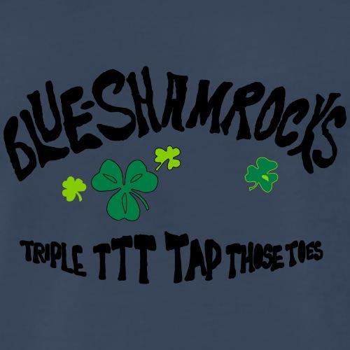 theBlueShamrocks Album TTT Black - Men's Premium T-Shirt