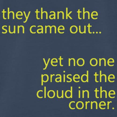 cloud & sun - Men's Premium T-Shirt