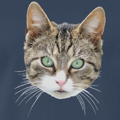 cathead color Edited - Men's Premium T-Shirt