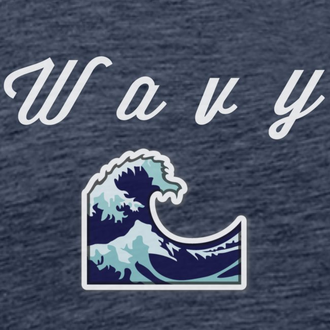 """""""Wavy"""" Abstract Design"""