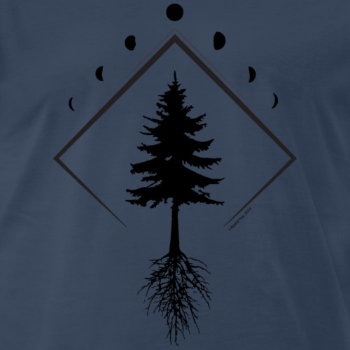 Picea mariana Northern Light Dark - Men's Premium T-Shirt