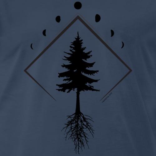 Picea mariana Northern Light Dark - Men's Premium T-Shirt