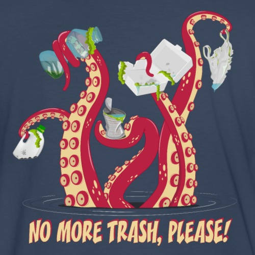 No more trash,please!