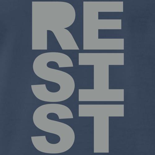 RESIST vertical solid - Men's Premium T-Shirt