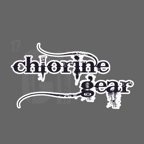 Chlorine Gear Textual stacked Periodic backdrop - Men's Premium T-Shirt