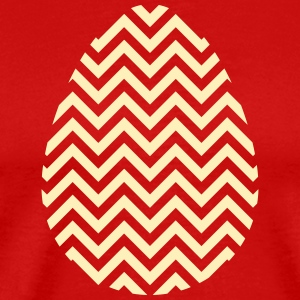 Gold Easter Egg Chevron - Men's Premium T-Shirt
