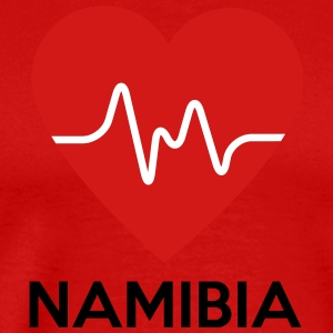 Heart Namibia - Men's Premium T-Shirt