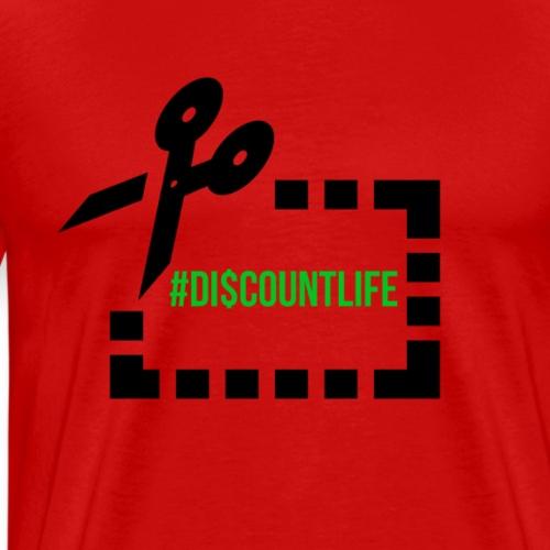 #discountlife - Men's Premium T-Shirt
