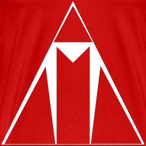 ASCEND white outline - Men's Premium T-Shirt