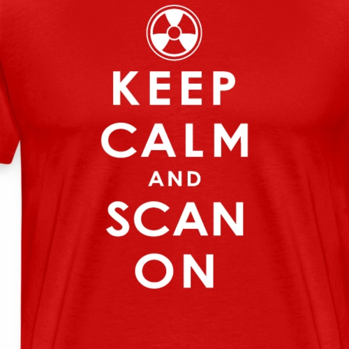Keep Calm and Scan On - Men's Premium T-Shirt