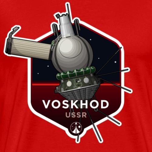 Space Race Series: VOSKHOD - Men's Premium T-Shirt