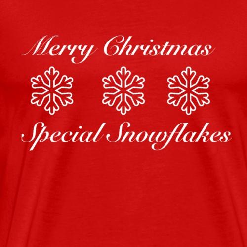 Special Snowflakes White Edition - Men's Premium T-Shirt