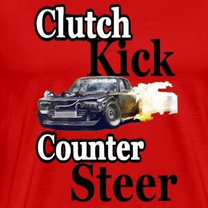 clutch kick counter steer drift - Men's Premium T-Shirt