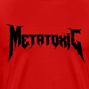 METATOXIC Text Logo (Black) - Men's Premium T-Shirt