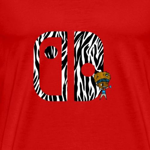 Switch Nation | Zebra Nation - Men's Premium T-Shirt