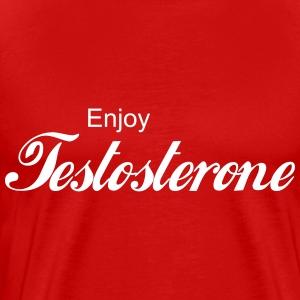 Enjoy Testosterone! - Men's Premium T-Shirt