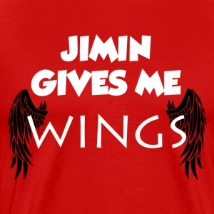 Jimin Gives Me Wings Shirt - Men's Premium T-Shirt