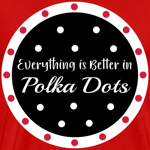 Polka Dots! - Men's Premium T-Shirt