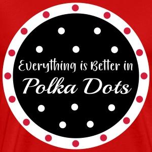 Polka Dots! - Men's Premium T-Shirt