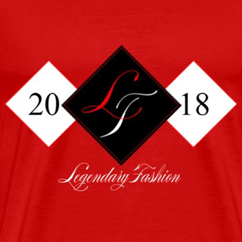 Legendary Fashion 1st Edition Red Black - Men's Premium T-Shirt