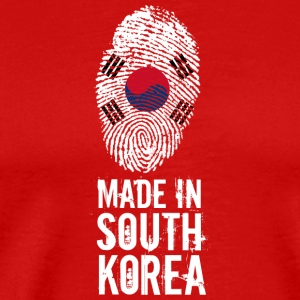 Made In South Korea / Südkorea / 대한민국, 大韓民國 - Men's Premium T-Shirt