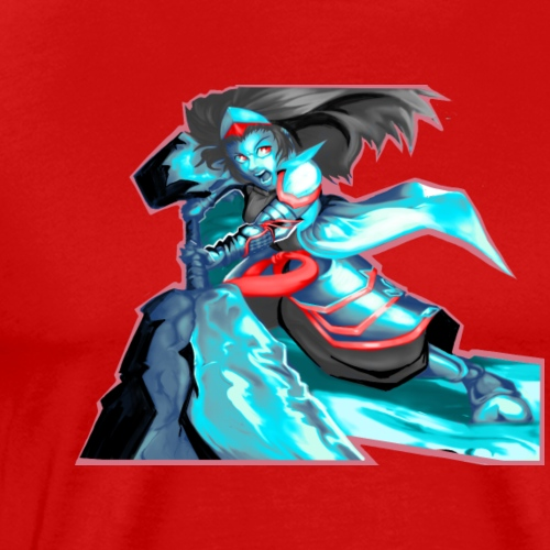 Anime Warrior - Men's Premium T-Shirt