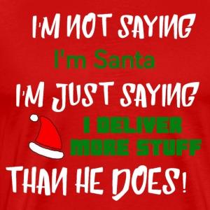 Deliver Santa - Men's Premium T-Shirt