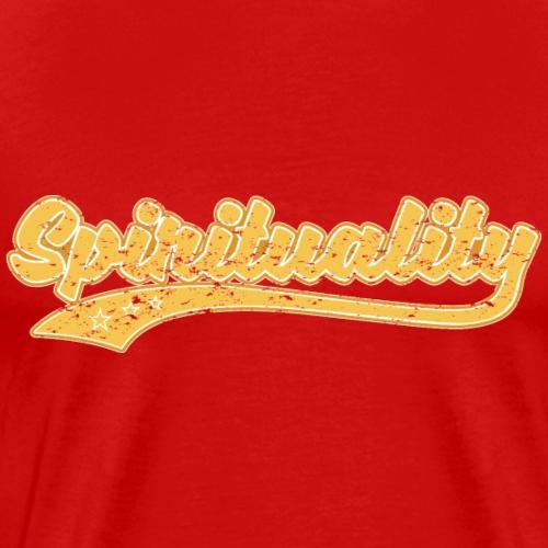 Spirituality (Vintage) - Men's Premium T-Shirt