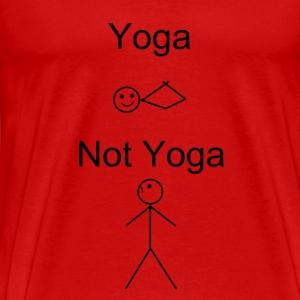 Non-yogi's dont understand us. - Men's Premium T-Shirt