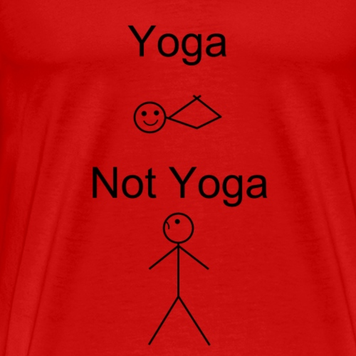 Non-yogi's dont understand us. - Men's Premium T-Shirt