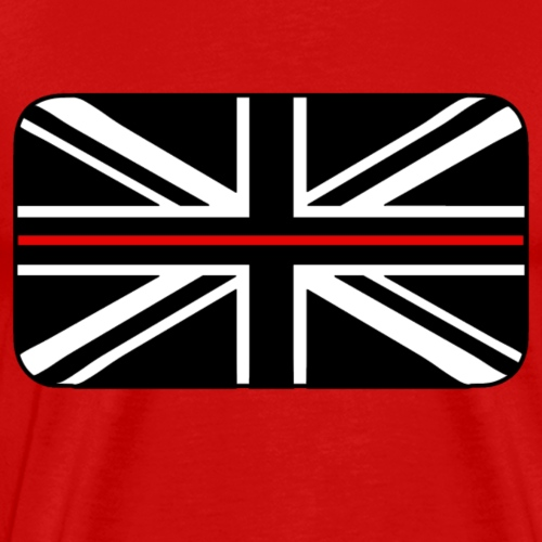 Thin Red Line UK Flag - Men's Premium T-Shirt