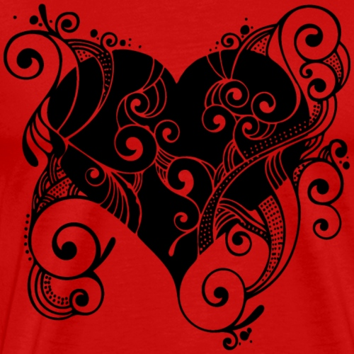 Isle of Heart Petal - Men's Premium T-Shirt