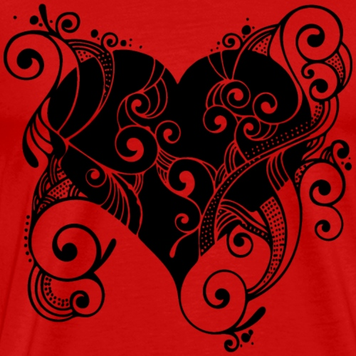 Isle of Heart Petal - Men's Premium T-Shirt