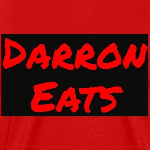 Darron Eats Logo - Men's Premium T-Shirt