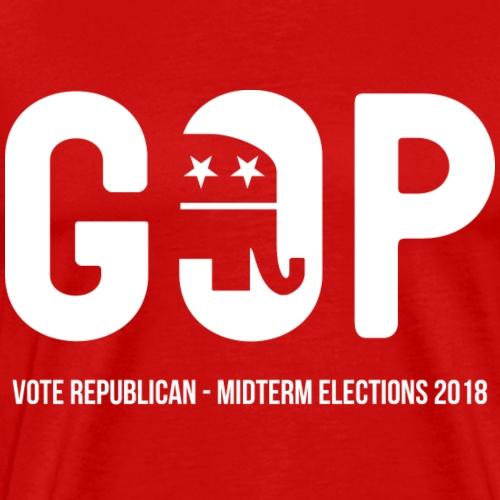 Vote Republican - Midterm Elections 2018 - Men's Premium T-Shirt