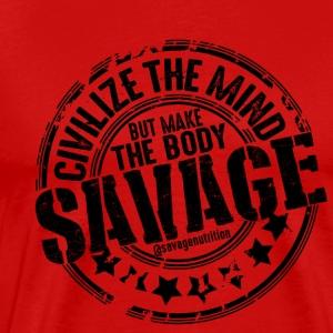 Savage 02 - Men's Premium T-Shirt
