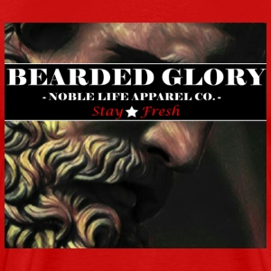 Bearded Glory - Men's Premium T-Shirt