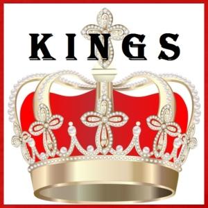 kings crown red - Men's Premium T-Shirt