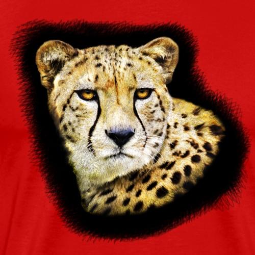 Cheetah Portrate - Men's Premium T-Shirt