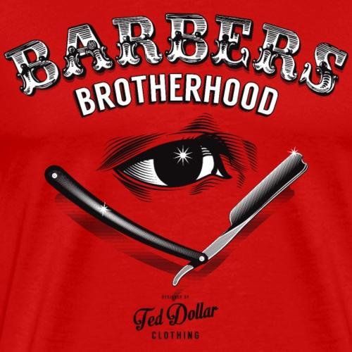 barbers brotherhood - Men's Premium T-Shirt