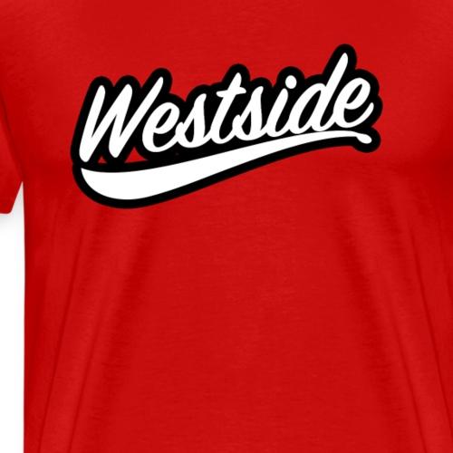 westside wite blk - Men's Premium T-Shirt